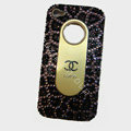 Chanel iPhone X case crystal diamond cover - 05