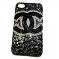Chanel iPhone X case crystal diamond cover - 07