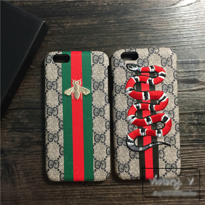 comprare on line b4983 e4715 Buy Wholesale Gucci Pattern Embroidery Eagle Leather Case Hard ...