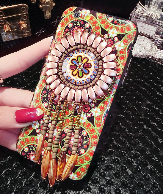 Buy Wholesale National Retro Tassels Silicone Cases For
