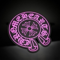 Chrome Hearts Auto Accessories Car Anti-Slip Mat for Mobile Phone Perfume Pad Silica Gel - Rose