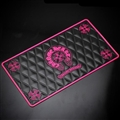 Chrome Hearts Auto Accessories Car Anti-Slip Mat for Mobile Phone key GPS Pad Silica Gel - Rose