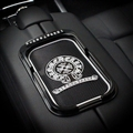 Chrome Hearts Bracket Car Anti-Slip Mat for Mobile Phone key GPS Pad Silica Gel - Black