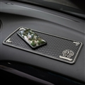 Retro Chrome Hearts Anti-Slip Mat for Mobile Phone Anti Slip Silica Gel Car Sticky Pad - Black Sliver