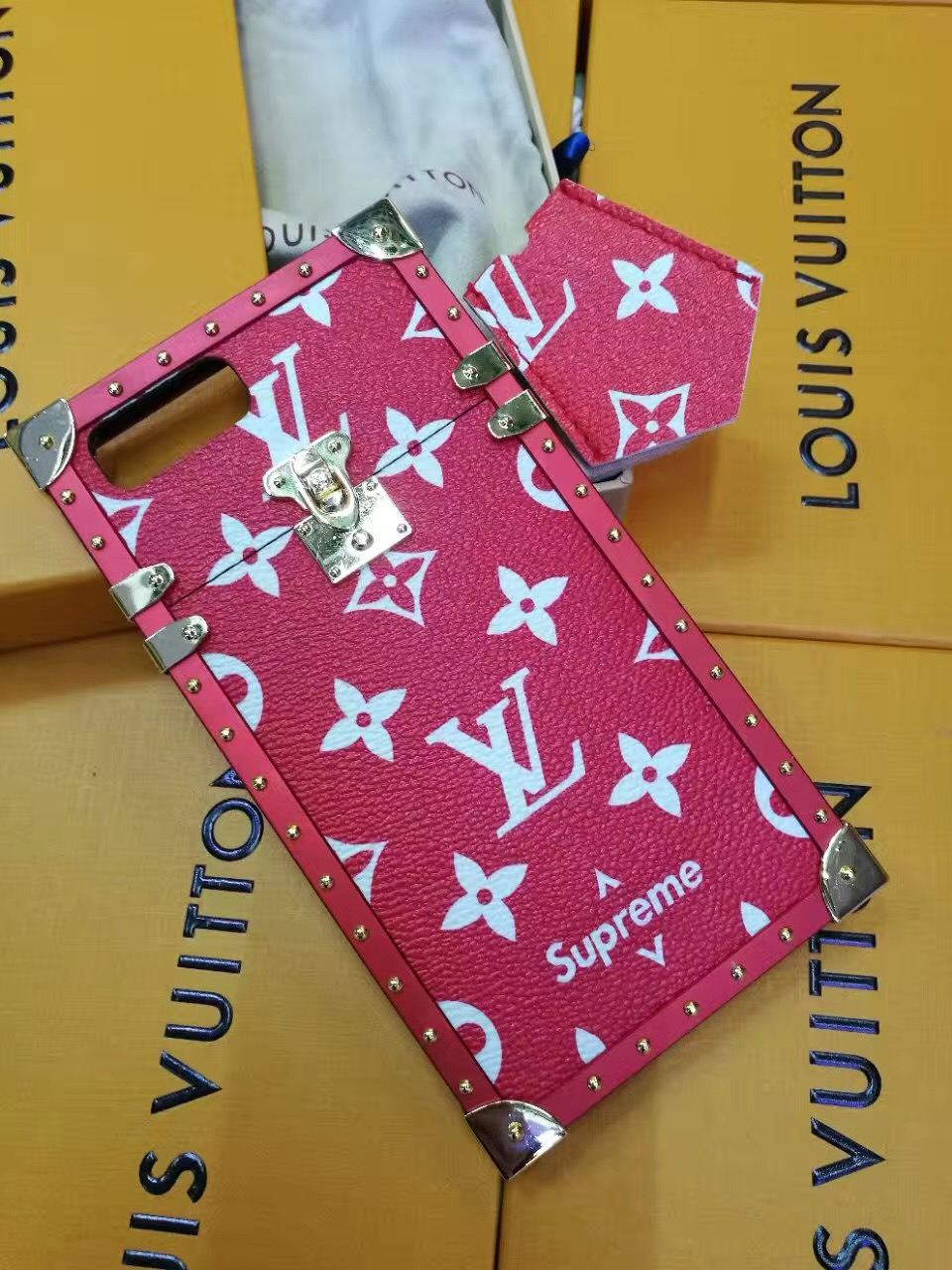 Buy Wholesale Newest Lv Classic Plaid Pattern Leather