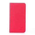 LV Classic Water Ripple Leather Case Universal Holster for iPhone 8 Louis Vuitton Cover - Rose