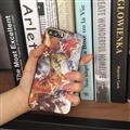LV Embroidery Leather Case for iPhone 8 Louis Vuitton Oil Painting Hard Cover - RUBENS