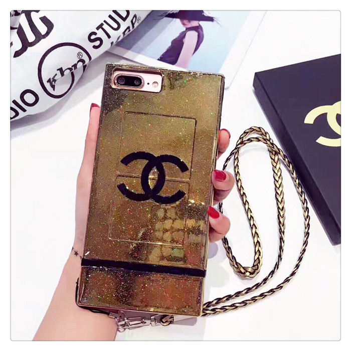 Buy Wholesale New Chanel Faux Leather Lanyards Cases Shell