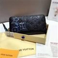 Classic LV Clutches Leather Bags Womens Wallets Fashion Ladies Banquet Purse Handbag - Black