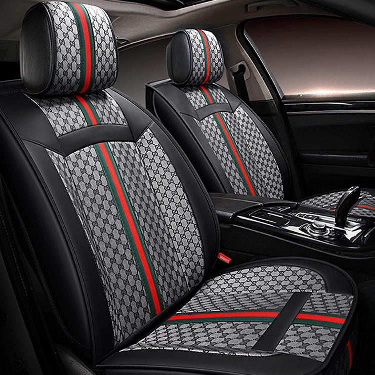 Swell Buy Wholesale Classic Leather Gucci Print Car Seat Covers Andrewgaddart Wooden Chair Designs For Living Room Andrewgaddartcom