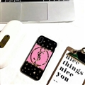 Classic YSL Shell Silicone Cases For iPhone XS Max Acrylic Lanyard Mirror Covers - Pink