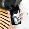 Cool LV Supreme Shell Matte Covers Skin Back Cases For iPhone XS Max - White
