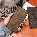 Classic LV Flower Skin Matte Covers Protective Back Cases For iPhone X - Black