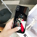 Cool LV Supreme Shell Matte Covers Skin Back Cases For iPhone X - Black