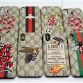 High Quality Gucci Pattern Leather Case Hard Back Cover for iPhone X - Remarks