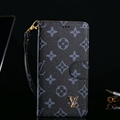 Classic LV Big Flower Flip Leather Covers Folder Holster Cases For iPhone XR - Black