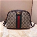 Classic Casual Gucci Fashion Shoulder Genuine Leather Bags Womens Crossbody Bags Ladies Zipper - Brown