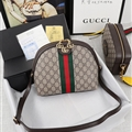 Classic Casual Gucci Fashion Shoulder Genuine Leather Bags Womens Crossbody Bags Ladies Zipper - White