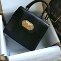 Classic Fresh D&G Genuine Leather Bags Womens Fashion Ladies Hasp Top-Handle - Black
