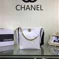 Chanel Classic Chains Crossbody Genuine Leather Hasp Large Top-Handle Lady Criss-cross Bags - White