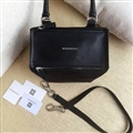 High Quality Givenchy Casual Deerskin Womens Shoulder Fashion Zipper Top-Handle Bags - Black