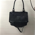 High Quality Givenchy Casual Genuine Leather Womens Shoulder Fashion Zipper Top-Handle Bags - Black