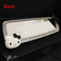 Hello Kitty Gorgeous Bling Bling Diamonds Crystal Car Rearview Mirror Auto Brilliant Rearview Mirror - White Black
