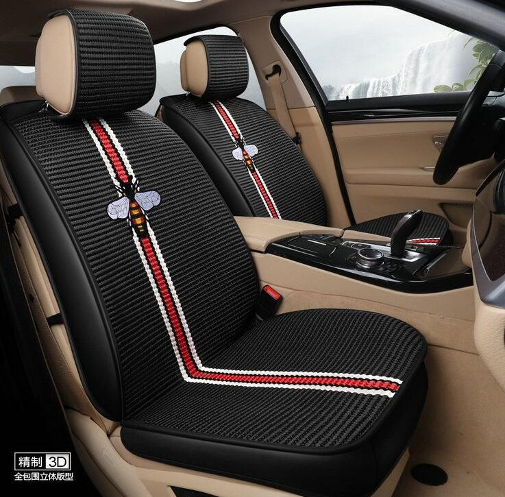 Strange Buy Wholesale Beautiful Ice Silk Fashion Gucci Bee Car Seat Andrewgaddart Wooden Chair Designs For Living Room Andrewgaddartcom
