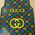 Colorful Gucci Genenal Automotive Carpet Car Floor Mats Rubber 5pcs Sets - Black Colorful
