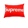 Cool Supreme 1pcs Polyester Peach Skin Car Waist Pillows Support Back Cushion - Red