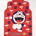 Doraemon Genenal Automotive Carpet Car Floor Mats Rubber 5pcs Sets - Blue Red