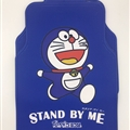 Doraemon Universal Automotive Carpet Car Floor Mats Rubber 5pcs Sets - Blue White