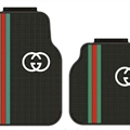 Elegant Gucci Genenal Automotive Carpet Car Floor Mats Rubber 5pcs Sets - Black Colorful