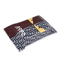 Fendi Cool Genuine Leather Car Tissue Paper Boxs Holder for Car Home - Grey Red