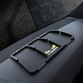 Fendi Car Accessories Car Anti-Slip Mat for Mobile Phone key GPS Pad Silica Gel - Black