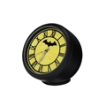 PVC Vehicle Ornaments Interior Decoration Clock Ornaments On-board Clock Ornaments Batman - Black Yellow