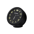 PVC Vehicle Ornaments Interior Decoration Clock Ornaments On-board Clock Ornaments Batman - Black