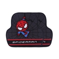 Spiderman General Auto Carpet Car Floor Mats Short Plush 2pcs Sets - Black Red