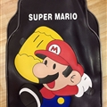 Super Mario Car Carpet Car Floor Mats Rubber 5pcs Sets - Colorful Black