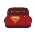 Superman General Automotive Carpet Car Floor Mats Short Plush 2pcs Sets - Red