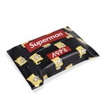 Superman Simpson Awsome Genuine Leather Car Tissue Paper Boxs Holder for Car Home - Black Yellow