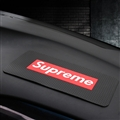Supreme Cool Auto Accessories Car Anti-Slip Mat for Mobile Phone key GPS Pad Silica Gel - Black