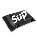 Supreme Gorgeous Genuine Leather Car Tissue Paper Boxs Holder for Car Home - Black