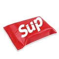 Supreme Gorgeous Genuine Leather Car Tissue Paper Boxs Holder for Car Home - Red