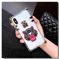New Kenzo Women Back Cases Shell For iPhone X Silicone Soft Covers - Tiger