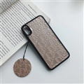 Personalized Dior Leather Pattern Cases Soft Back Covers for iPhone XR - Gold