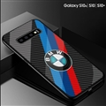 BMW Glass Mirror Surface Silicone Glass Covers Protective Back Cases For Samsung Galaxy S10E - 03