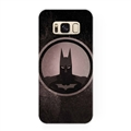 Black Batman Surface Cases Shell For Samsung Galaxy S6 Edge PC Hard Covers - Black
