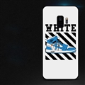 Blue Shoes Surface Cases Sports Shell For Samsung Galaxy S9 Silicone Soft Covers - White