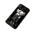 Cartoon Sesame Street Kaws Matte Hard Back Cases For Samsung Galaxy S9 - Black